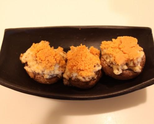 Chedz Stuffed Mushrooms
