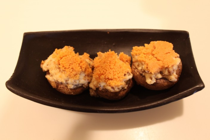 Chedz Stuffed Mushrooms