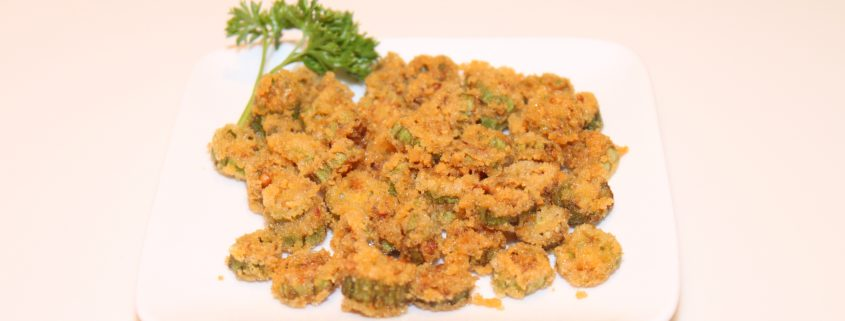 Chedz Fried or Baked Okra