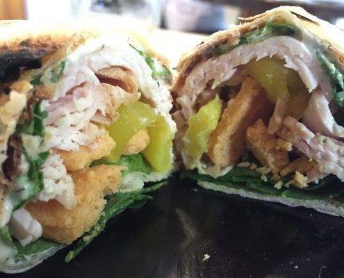 Chedz Turkey Wrapz - Courtesy of Carey Angerer (San Francisco, CA)
