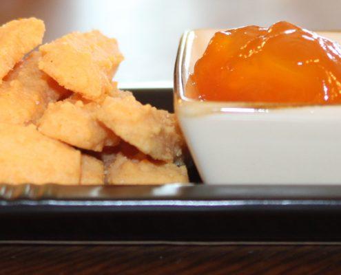 chedz with mango peach preserves 5