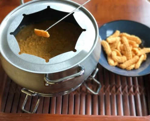 Chedz Cheddar Beer Fondue - Courtesy of Susan Hall
