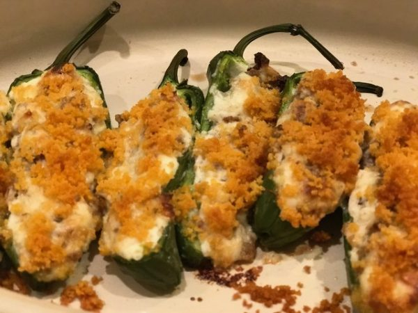 Chedz Sausage Stuffed Jalapenos - Courtesy of Susan Hall