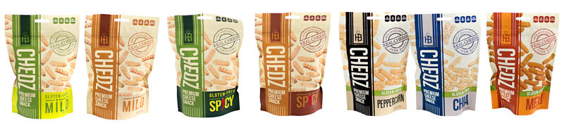 Chedzsnack Flavors
