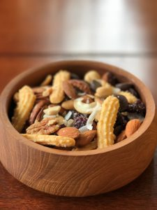 chedz mixed nuts bowl