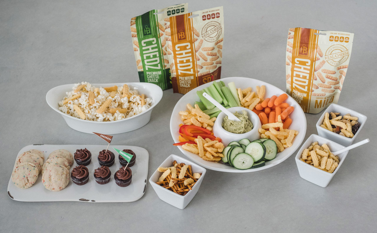 So many things you can do with Chdedz snacks